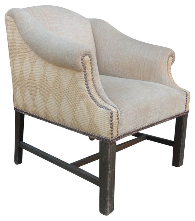 American Upholstered Armchair