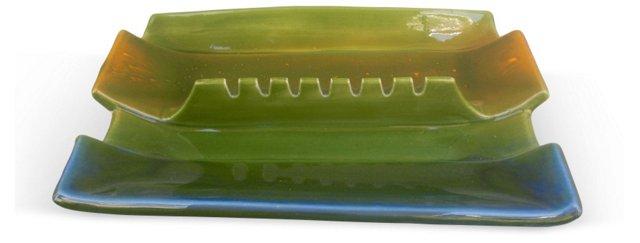 Midcentury Ceramic Ashtray
