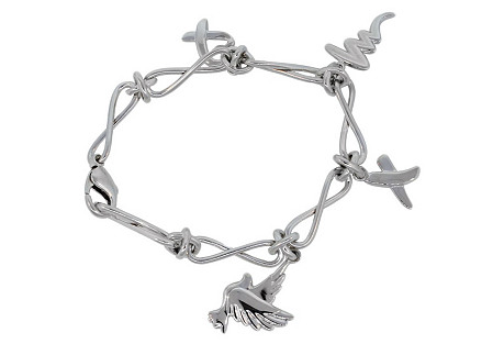 Tiffany & Co. Picasso Charm Bracelet