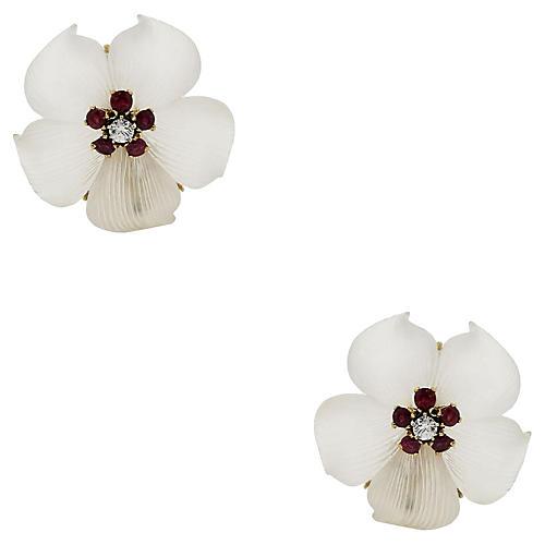 Tiffany & Co. Flower Earrings
