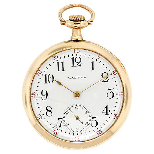 Waltham-Style Pocket Watch