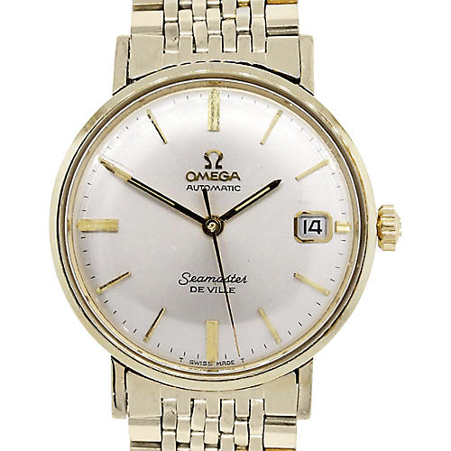 Omega Seamaster Deville Gold Watch