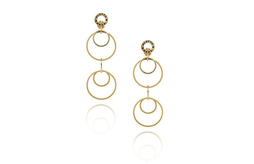 Multi-Loop Drop Earrings