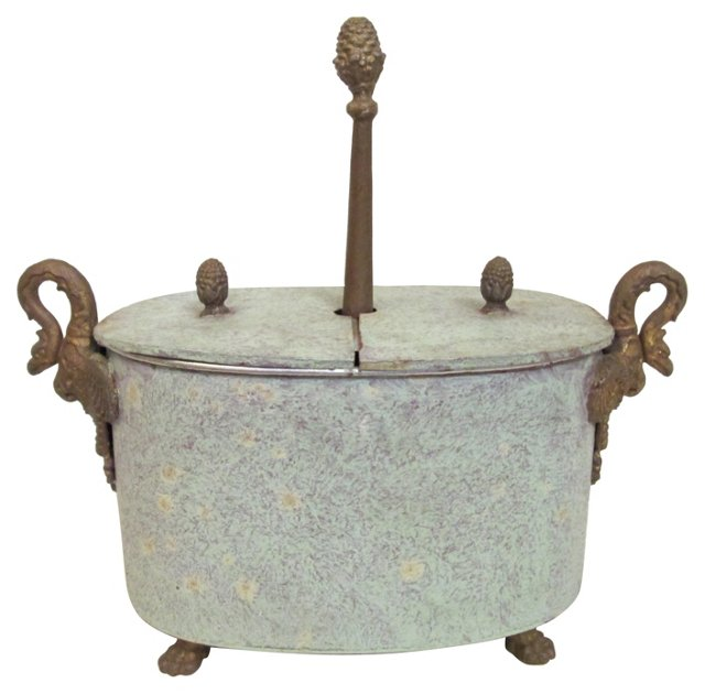 19th-C. French Egg Coddler