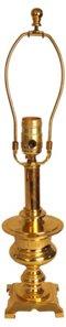 Brass Urn-Shaped Lamp