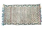 Turquoise Moroccan Azilal, 9' x 4'7""