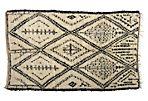 "Tribal Beni Ourain Rug, 6'7"" x 9'4"""