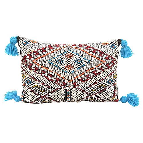 Turquoise Kilim Pillow