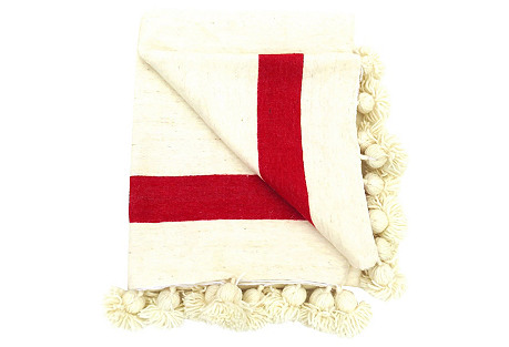 Moroccan Wool Blanket