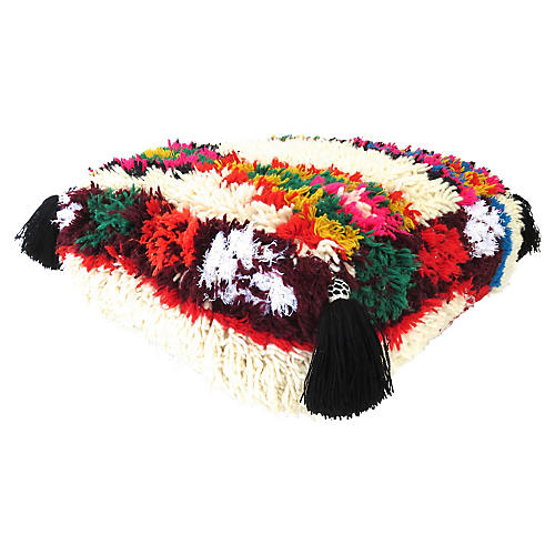 Moroccan Abstract Pouf