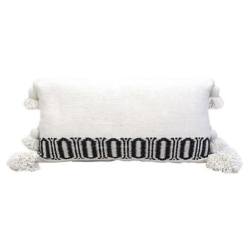 Moroccan Woven Cotton Pillow