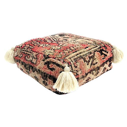 Moroccan Wool Pouf