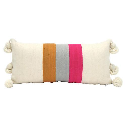 Large Moroccan Wool Pillow Sham