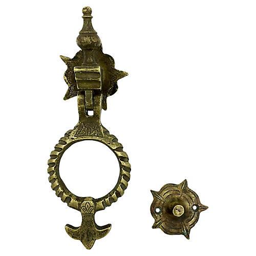 Moroccan Brass Door Knocker