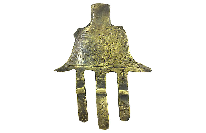 Hamsa Brass Door Knocker