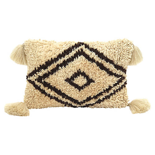 Ivory Berber Wool Pillow