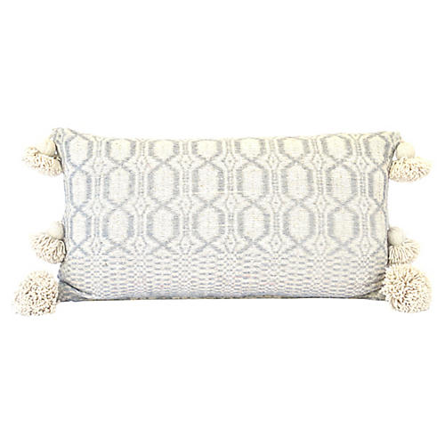Gray Moroccan Pillow