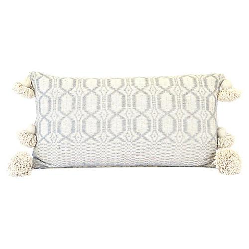 Gray Moroccan Pillow