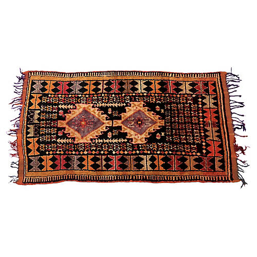 "Moroccan Taznakht Rug, 4'3"" x 8'"