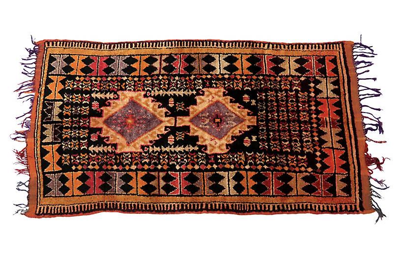 Moroccan Taznakht Rug, 4'3