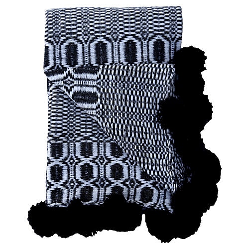 Black & White Coverlet, King
