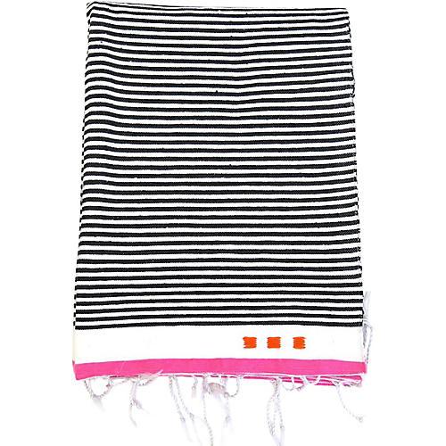 Cote d'Azur Handwoven Cotton Blanket