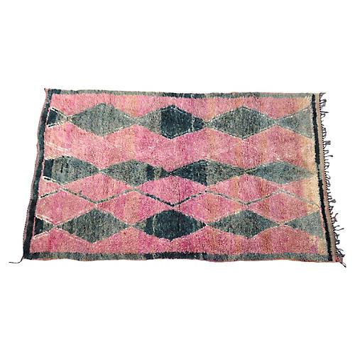 "Moroccan Talsint Rug, 6'5"" x 11'"