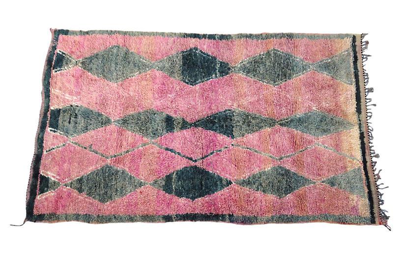 Moroccan Talsint Rug, 6'5