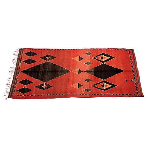 Vintage Moroccan Medouna Rug