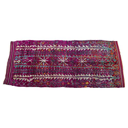 "Moroccan Talsint Rug, 6'6"" x 16'"