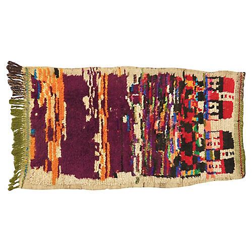 Vintage Ait Titlane Moroccan Rug