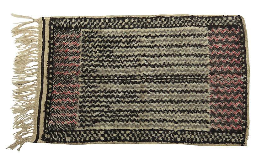 Talsint Black & Gray Rug, 2'11