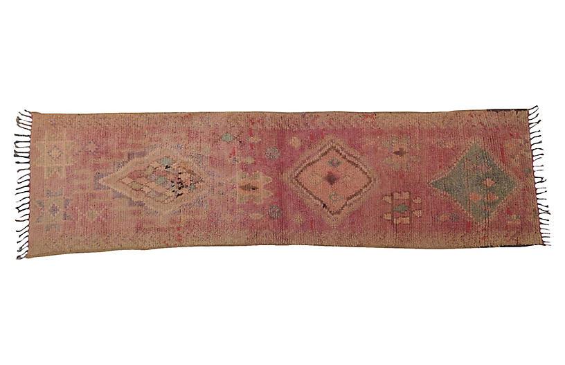 Vintage Lavendar Runner, 2'11 x 10'6