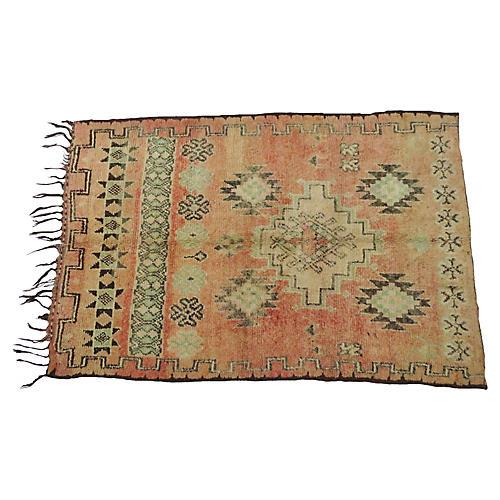Vintage Tribal Terracotta Rug