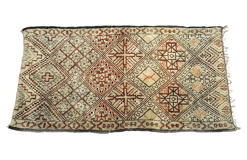 Vintage Marmoucha Moroccan Rug