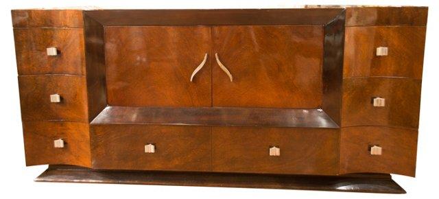 Art Deco Rosewood Credenza