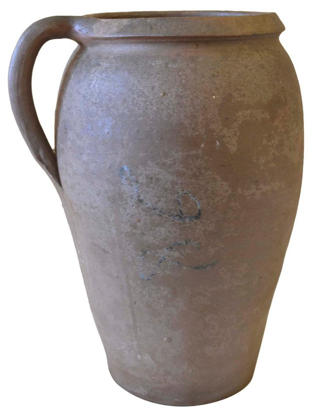 French Stoneware Pot