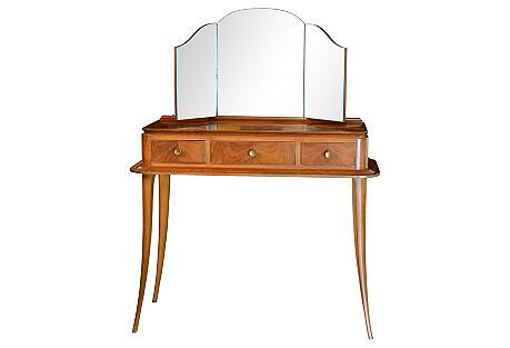 1930s French Art Deco Vanity