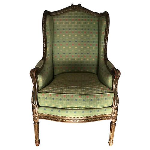 French Louis XVI-Style Bergère