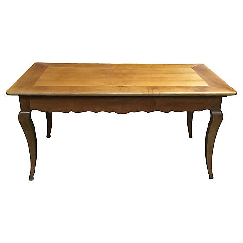 French Cherry Farm Table