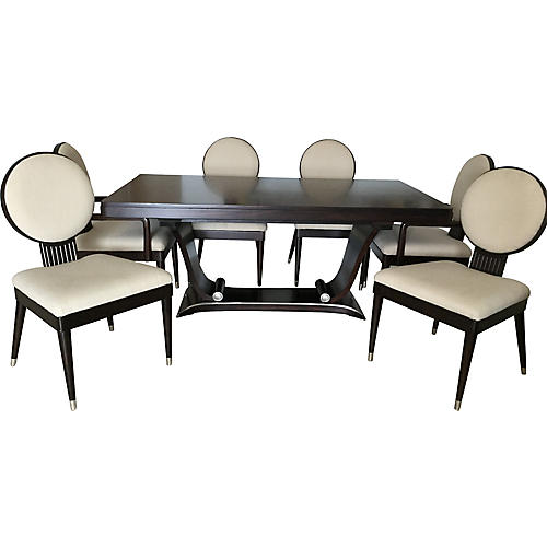 Italian Dining Table & Chairs