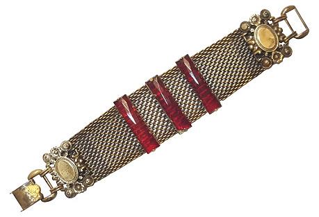 Joseff of Hollywood-Style Brass Bracelet