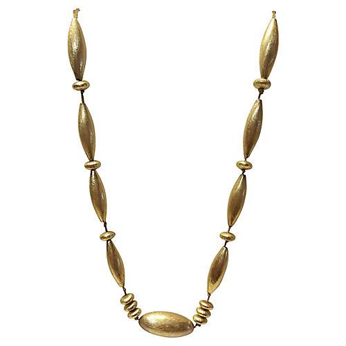 Gold Vermeil Sterling Necklace