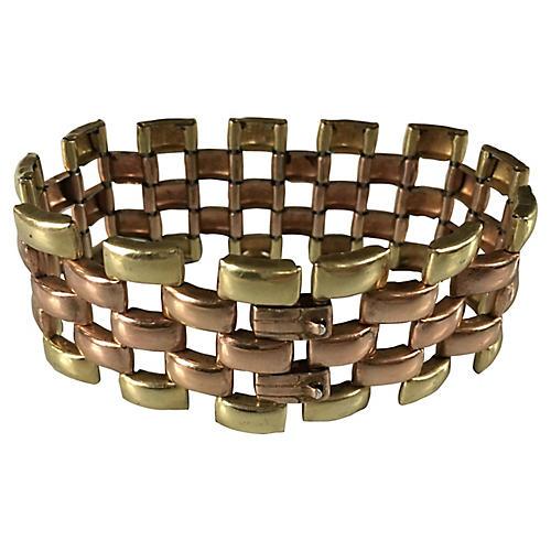 1950s Tank Bracelet