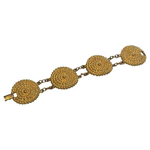 Disk Station Bracelet