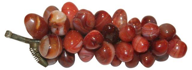 Marbleized Stone Grape Cluster