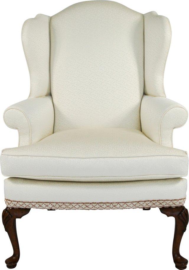 Cream Wing Chair