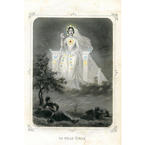 The Beautiful Star by Jean Grandville