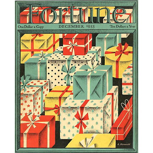 Fortune Magazine Cover, December 1933