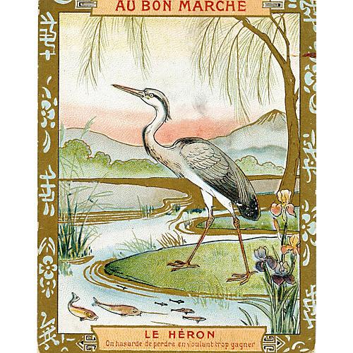 Le Heron, C. 1900